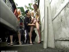 Street parking suck his cock episode